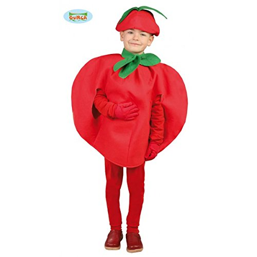 Kostüm von Tomate (Größe 3-4 Jahre (Halloween Diablo 3 Kostüme)