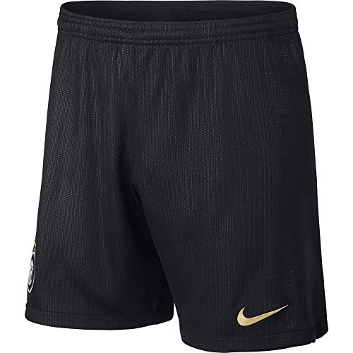 Nike Herren Inter Mailand Breathe Stadium Home/Away Shorts, Black/Truly Gold, L