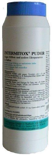 Intermitox Puder Dose 0,5 kg - Bekämpfung von Ektoparasiten und Milben