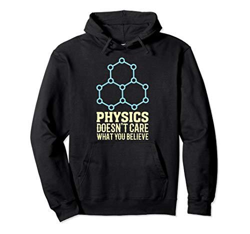 Atheismus Atheist Physik Wissenschaft Religion Spruch Lustig Pullover Hoodie
