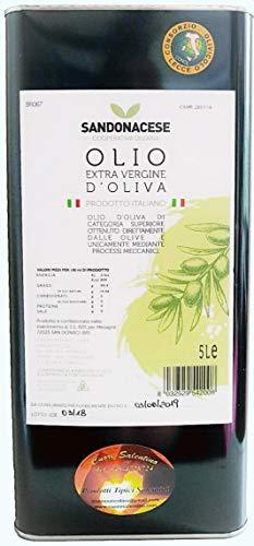 Olio extravergine di oliva salentino latta da 5 litri