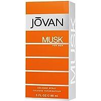 Jovan Musk Men EDC 88ml Vapo, 1er Pack (1x 88ml)