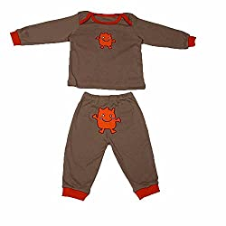 Pikaboo Baby Night Suit for Boys and Girls (0-18 Months)