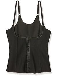 INTIMAX Corset Latex Shape Negro, Corsé para Mujer