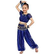 Ularma Los niños danza del vientre trajes Egipto y paño de danzas de