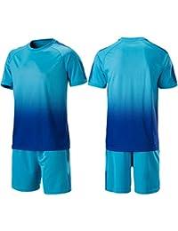 b897cda16b147 LQZQSP Camisetas De Fútbol Uniformes Manga Corta Juvenil Survetement Kits  Traje De Entrenamiento Maillots ...