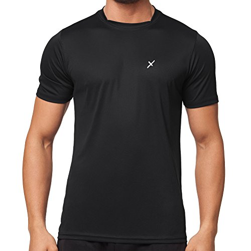 CFLEX Men Sportswear Collection - Herren Funktion Sport Kleidung - Fitness Quickdry Shirt & Hemd- Größe L (Shorts Quick Dry)