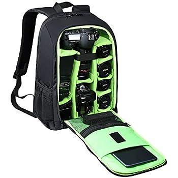 52ec4b36d60 Estarer Waterproof DSLR Camera Laptop Backpack with Rain Cover,Tripod  Holder,Large Professional SLR Photo Rucksack for Dji Mavic  Pro,Canon,Nikon,Sony, ...