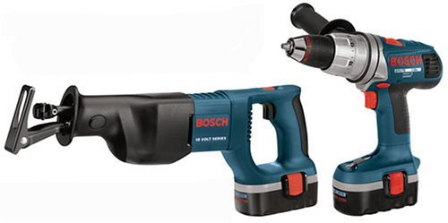 Bosch CPK20-18 18-Volt Ni-Cad Cordless 2-Tool Combo Kit by Bosch - 2-tool Combo Kit