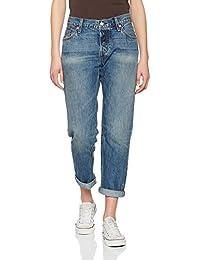 Levi's Vaquero 501 Ct Jeans For Women Azul Petróleo W26L34