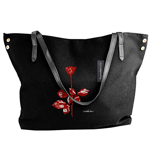 Fashion Depeche Mode Violator Schultertasche Canvas Handtasche Tragetasche