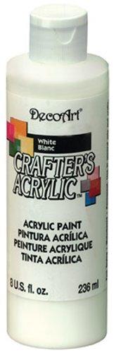 DecoArt Crafters Acrylfarbe, Weiß