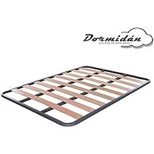 Dormidán - Somier Somieres de Laminas, Fabricado en Tubo de Acero 30 x 30mm,