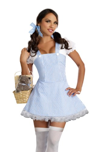 am-Kleid, (Gingham Kleid Kostüme)