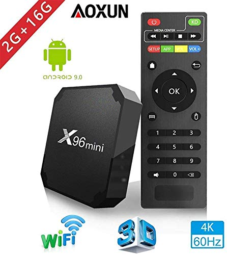 TV Box Android 9.0 - Aoxun X96 Mini Smart TV Box Amlogic