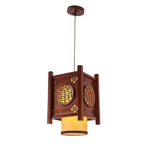 GYP Lampadari, cinese lampadario antico Lanterne, Sculture in legno creativi sala studio ristorante Luci Teahouse navata laterale Corridoio Lights