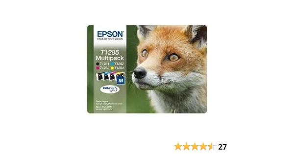 Fox Epson T1285 Schwarz Und Farbe Elektronik