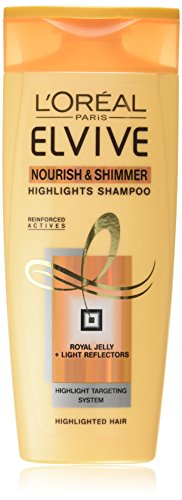 L'Oreal Elvive Nourish Highlights Shampoo 250ml Pack of 6