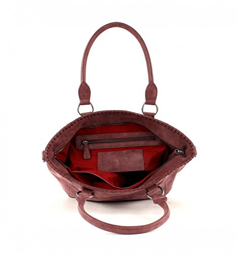 Fritzi aus Preußen Inke Vintage Shopper Tasche 42 cm amarena1