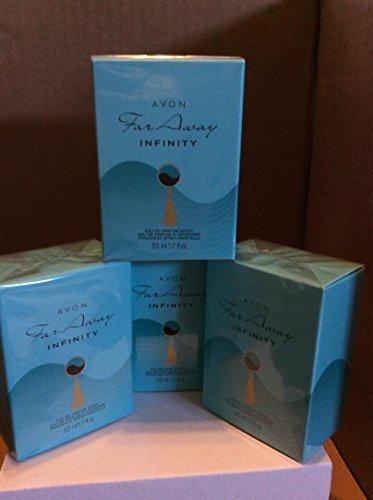 4 x Avon Far Away Infinity Eau de Parfum Für Damen 50ml SET !