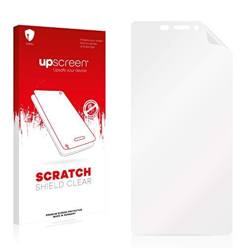 upscreen Scratch Shield Schutzfolie kompatibel mit Gionee Elife S7 - Kristallklar, Kratzschutz, Anti-Fingerprint
