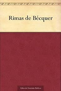 Rimas de Bécquer par Gustavo Adolfo Bécquer