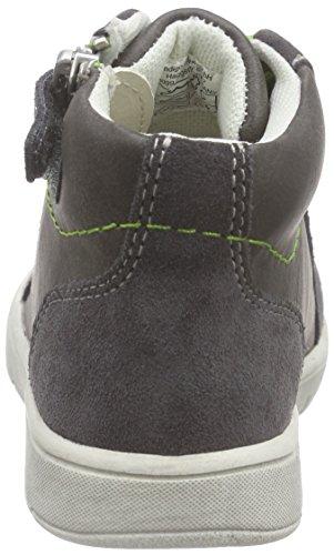 indigo by Clarks 351 007, Baskets premiers pas mixte bébé Gris - Grau (Dk.Grey 259)