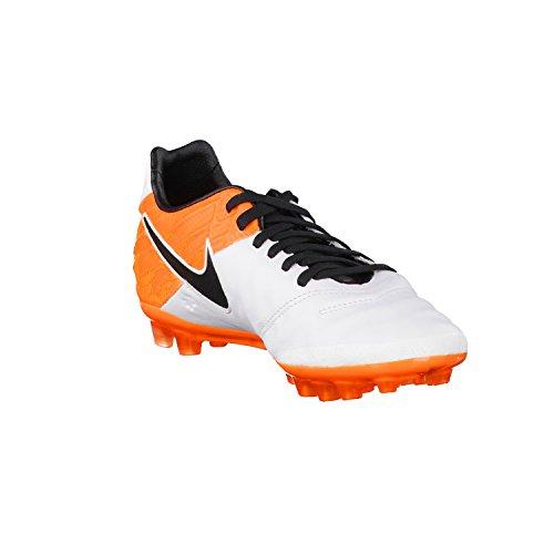 Nike Tiempo Legacy Ii Ag-r, Scarpe da Calcio Uomo Bianco (Blanco (White / Black-Total Orange))