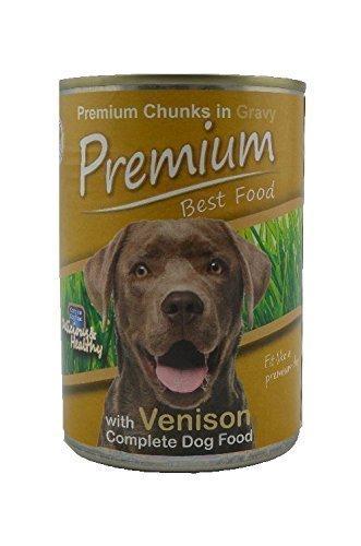 Premium Best Food Hunde Nassfutter Dose Wildfleisch 24x0,41kg, Made in Europe
