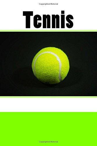 Tennis (Journal/Notebook) por Wild Pages Press Journals & Notebooks