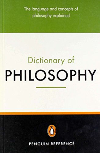 The penguin dictionary of philosophy. per il liceo linguistico