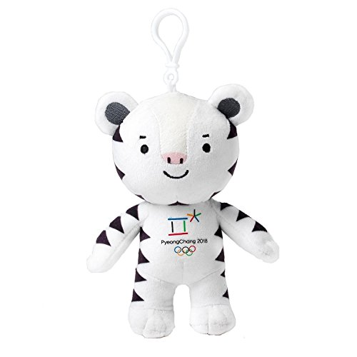 PyeongChang 2018 Winter Olympic Offizielles Maskottchen Soohorang Tasche Charme 6
