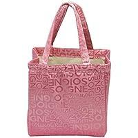 Preisvergleich für Yudanwin Leinwand-Lunch-Tasche Kreative Verdickung Tragbare Isolierung wasserdicht Lunch Box Bag (Pink)
