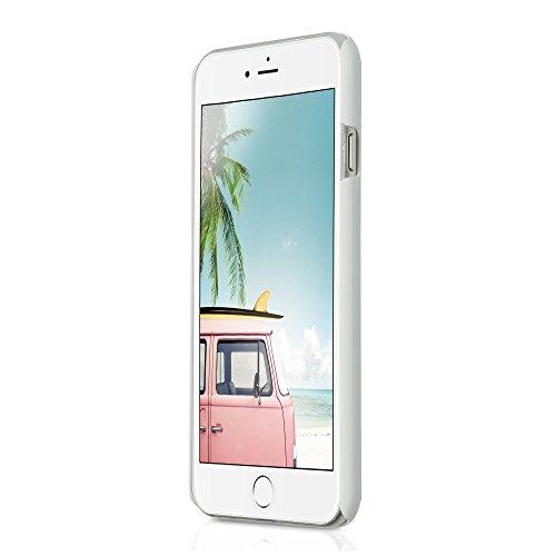 iPhone 6 6S (4,7 Zoll) dünne Hard-Case Hülle | Cover | Schutzhülle | Backcover | in matt Design | Weiss für iPhone6 iPhone6S | - Naruba Media (Hard Case Weiss) Hard Case Weiss