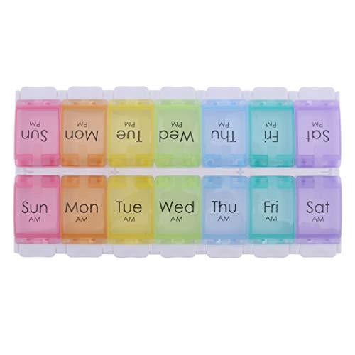 7 Tage Medikamentendosierer Wochendosierer Medikamenten Box Aufbewahrung
