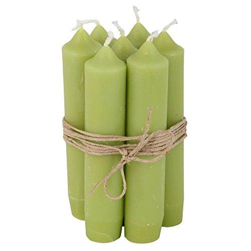 IB Laursen velas (8unidades pequeño verde
