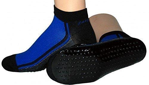 Beach Socks, Watt Strand Socke, Farben alle:bordeaux/ziegelrot;Größe:39/42
