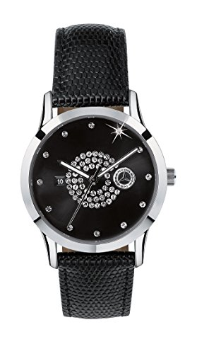 womens-watch-silver-black-stainless-steel