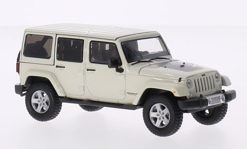 Jeep Wrangler Unlimited, hellbeige, 2011, Modellauto, Fertigmodell, Greenlight 1:43 - Sport Unlimited Wrangler Jeep