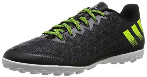 adidas Herren Ace 16.3 Cage Fußballschuhe, Schwarz (core Black/solar Yellow/crystal White), 40 2/3 EU