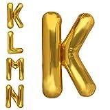 Dizoony Globos de Letras Jumbo Balloon Foil de cumpleaños Decoración Fuentes de Fiesta (K)