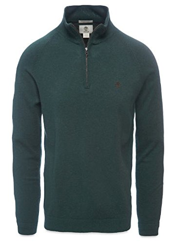 Timberland Jones Brook 1/2 Neck, Maglione Uomo, Dark Cilantro, 52 IT (XL)