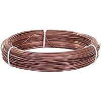 Bonsai de alambre, alambre de cobre, 1000gr. 1,37mm aprox. 75m
