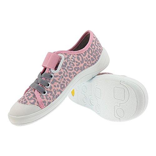 GALLUX - Kinder Hausschuhe super schöne Mädchen Sneaker Rosa