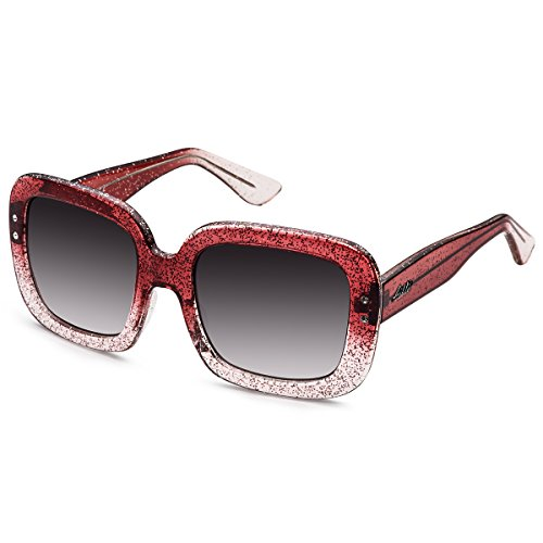 Aiblii Women Shades Classic Oversized Polarized Sunglasses 100% UV Protection Eyewear for Ladies