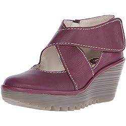 FLY London Yogo - Zapatos de vestir de cuero para mujer