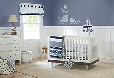 Triboro Just Born Crib Sheet - High Seas