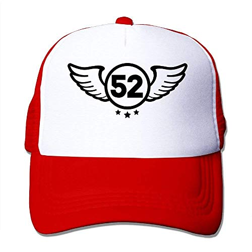 Zhgrong Caps Shield 52 F1 Big Foam Trucker Baseball Cap Mesh Back Adjustable Cap hat - Back Adjustable Trucker Hut