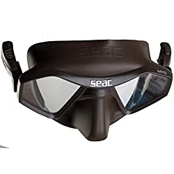 Seac Masque M70 volume interne réduit, technologie Seac semi-frameless
