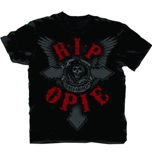P. Opie Schwarz T-Shirt | S ()